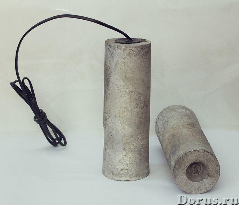 Магниевые протекторы ПМ, П-КОМ, ПРОМ и др - Металлургия - Опытный завод КТИАМ продает магниевые прот..., фото 1