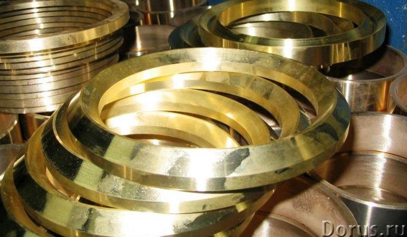 Венцы, шайбы из бронзы - Металлургия - Опытный завод КТИАМ изготовит венцы и шайбы из бронзы по черт..., фото 1