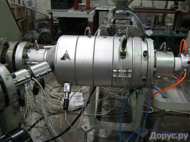 Экструзионная линия для производства напорных труб из PPR-GF(Glass Fiber) - Промышленное оборудовани..., фото 2