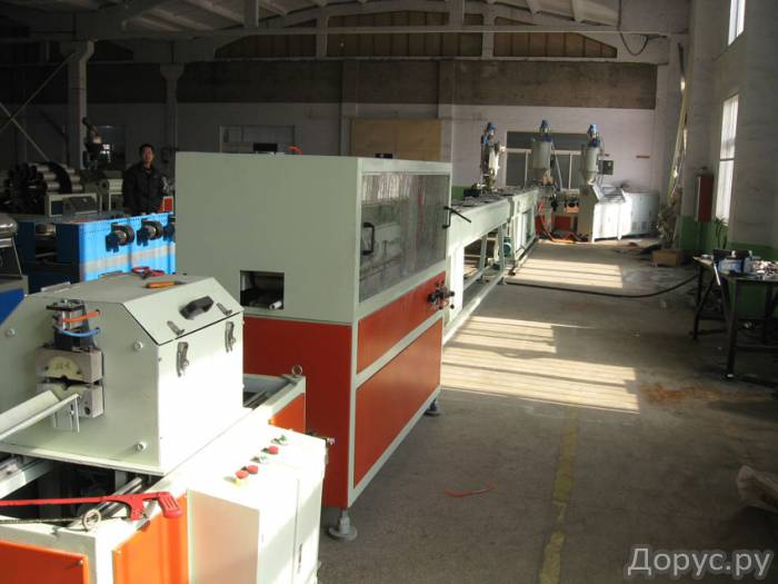 Экструзионная линия для производства напорных труб из PPR-GF(Glass Fiber) - Промышленное оборудовани..., фото 3