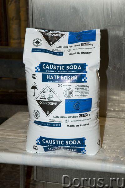Сода каустическая гранулированная (натр едкий) - Химия - Сода каустическая гранулированная широко пр..., фото 1
