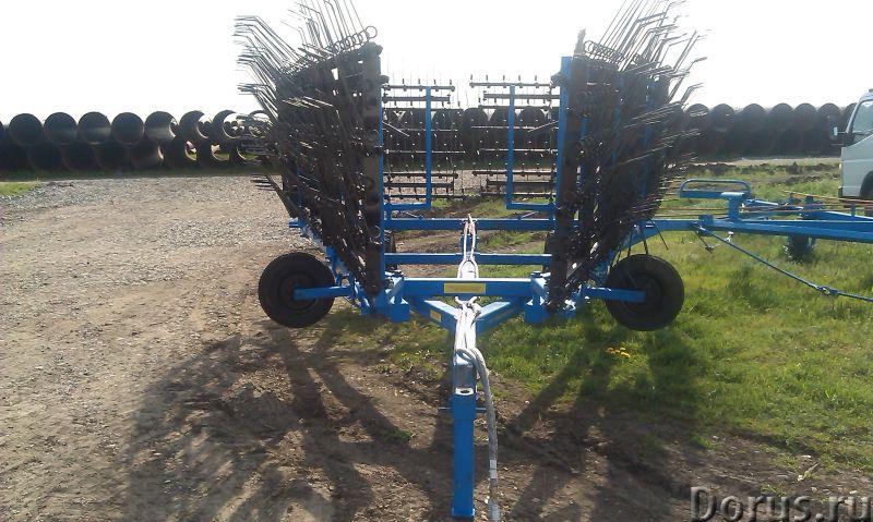 Борона пружинная БП-12-01 - Сельхоз и спецтехника - Предназначены для обработки почвы с целью выравн..., фото 1