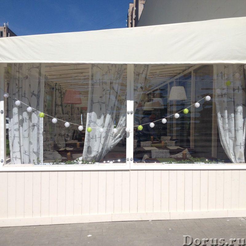 Шторы для веранд и террас кафе и ресторанов по Краснодару и Краснодарскому краю - Материалы для стро..., фото 9