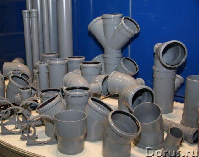 Труба канализационная 110 2м - Материалы для строительства - Производим и реализуем трубы ПВХ в Крас..., фото 1