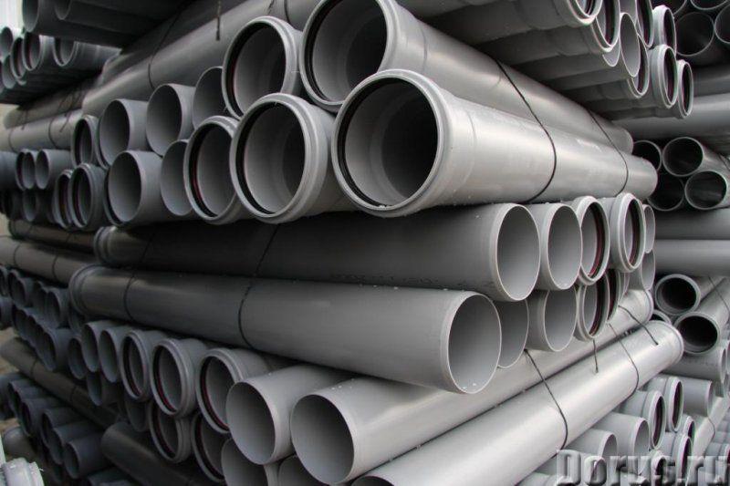 Труба канализационная 110 2м - Материалы для строительства - Производим и реализуем трубы ПВХ в Крас..., фото 3