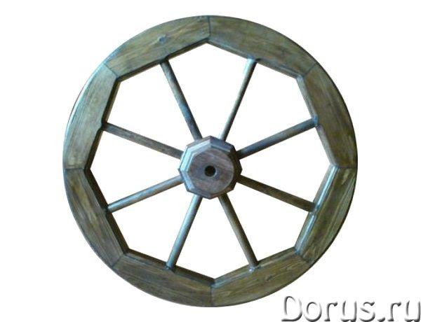 Колесо от телеги декоративное - Прочие товары - Деревянное колесо от телеги может быть использовано..., фото 1
