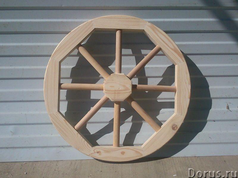 Колесо от телеги декоративное - Прочие товары - Деревянное колесо от телеги может быть использовано..., фото 3