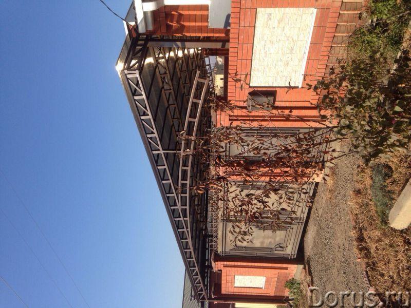 Навес по безналу, навес над двором, навес для организаций, навес краснодар - Строительные услуги - О..., фото 4