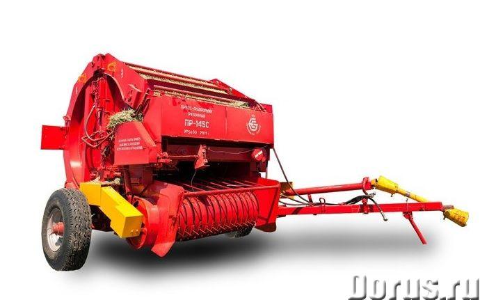 Пресс-подборщик рулонный ПР-145С - Сельхоз и спецтехника - Пресс-подборщик рулонный ПР-145С предназн..., фото 1