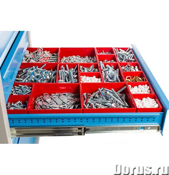 Ящики и лотки пластиковые - Прочая мебель - Пластиковые ящики для хранения мелких и сыпучих материал..., фото 1