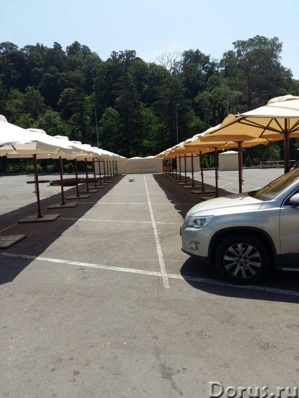 Зонт торговый 3х3 м - Прочие товары - Профессиональный торговый зонт. Благодаря телескопическому мех..., фото 2