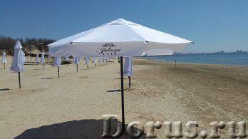 Пляжный зонт круглый диаметром 3,0 м - Прочие товары - Количество спиц - 6 (спицы стальные 15х15х1,5..., фото 1