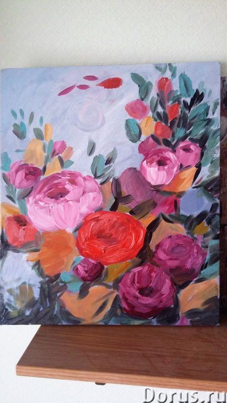 Вдохновение. Картина маслом - Искусство и коллекционирование - Лютики-цветочки. Яркие и не очень, но..., фото 3