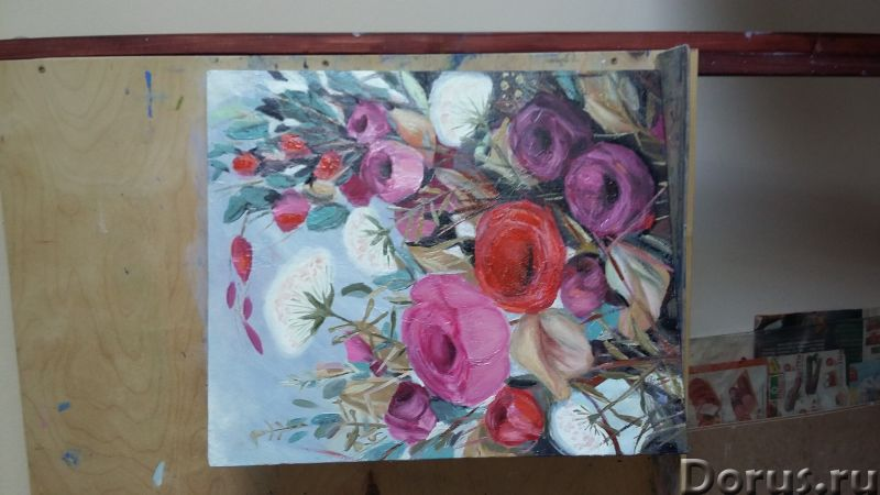 Вдохновение. Картина маслом - Искусство и коллекционирование - Лютики-цветочки. Яркие и не очень, но..., фото 4