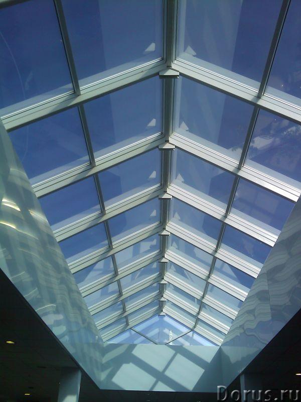 Фасадное остекление, зенитные фонари - Материалы для строительства - Облик современного здания уже н..., фото 1