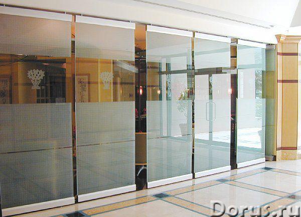 Цельностеклянные витрины, перегородки, двери - Материалы для строительства - Цельностеклянные перего..., фото 1