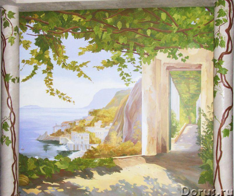 Художественная роспись стен - Дизайн и архитектура - Творческая группа художников, живописцев, дизай..., фото 1