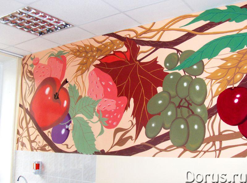 Художественная роспись стен - Дизайн и архитектура - Творческая группа художников, живописцев, дизай..., фото 3