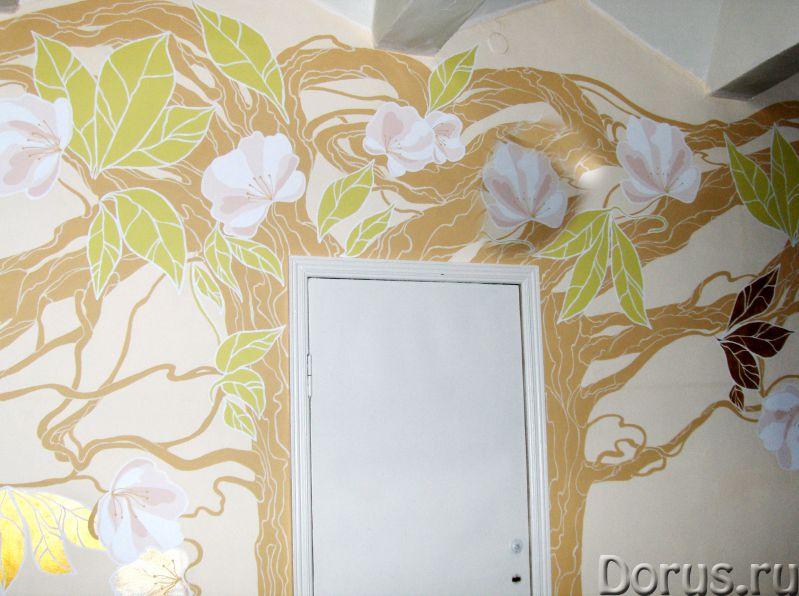 Художественная роспись стен - Дизайн и архитектура - Творческая группа художников, живописцев, дизай..., фото 4
