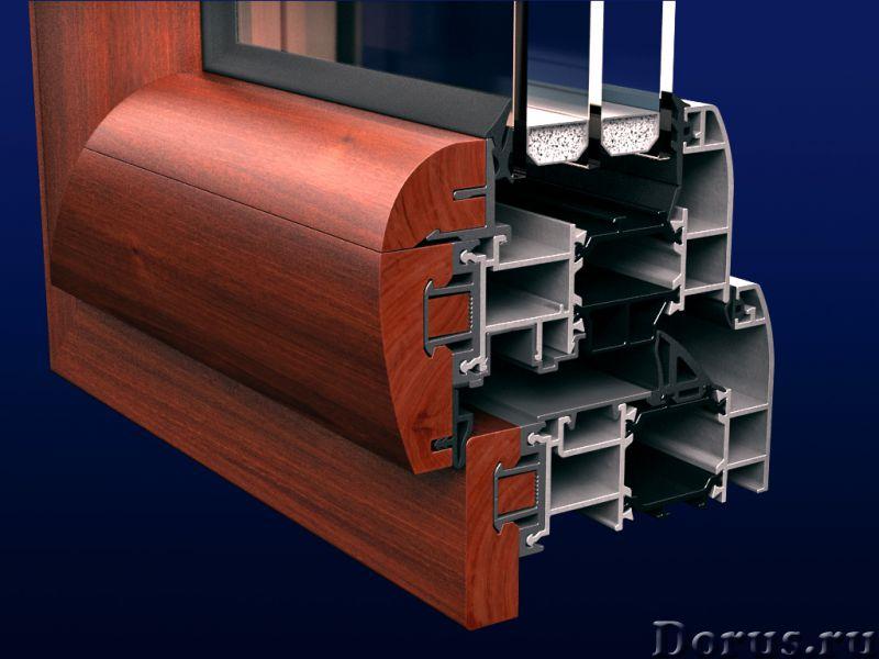 Алюминиево-деревянные окна Grand - Материалы для строительства - Изготовление и монтаж окон, дверей..., фото 1