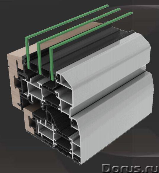 Алюминиево-деревянные окна Perla, итальянские алюминиевые окна Mixall - Материалы для строительства..., фото 1
