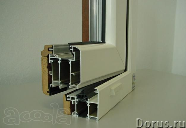 Алюмо-деревянные окна NEW TEC Wood - Материалы для строительства - Cпециализированная алюминиево-дер..., фото 1