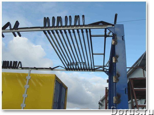 Изготовление автотентов, каркасов любой сложности (под боковую и верхнюю погрузку), распашных ворот..., фото 5